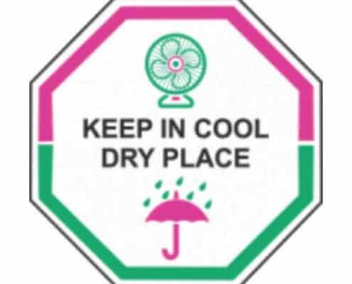 Съхранявайте на хладно и сухо място