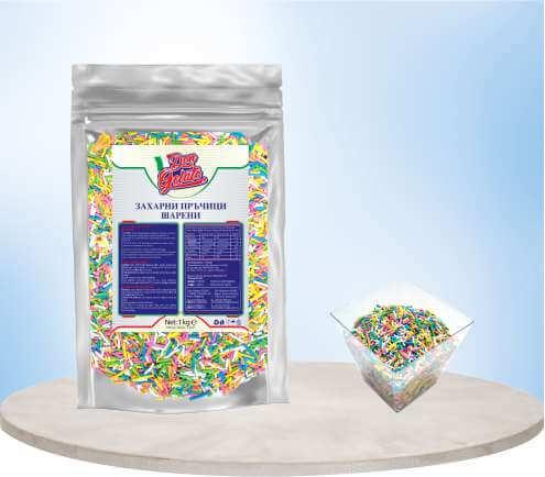 Захарни пръчици шарени