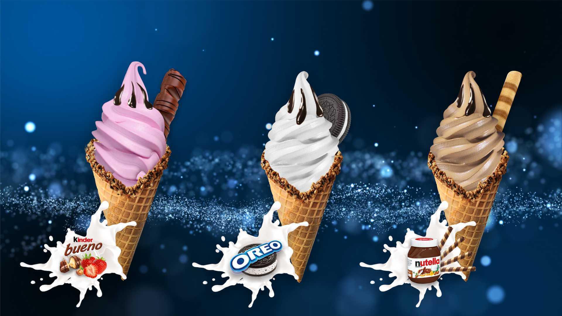Сухи смеси за сладолед Дон Джелато