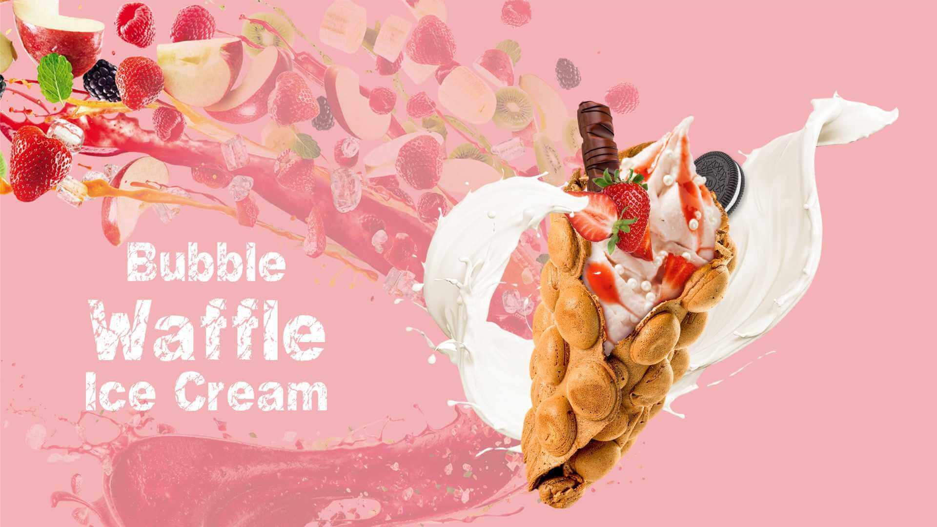 Сухи смеси за гофрети Bubble waffle Don Gelato