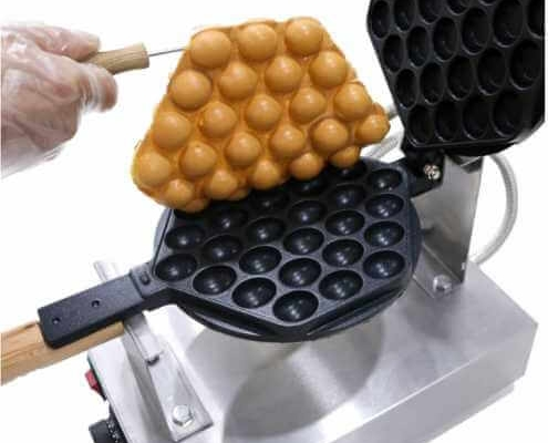 Професионален гофретник за Bubble Waffle гофрети Дон Джелато