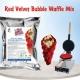 Суха смес за червени гофрети Bubble Waffle – Червено кадифе Дон Джелато