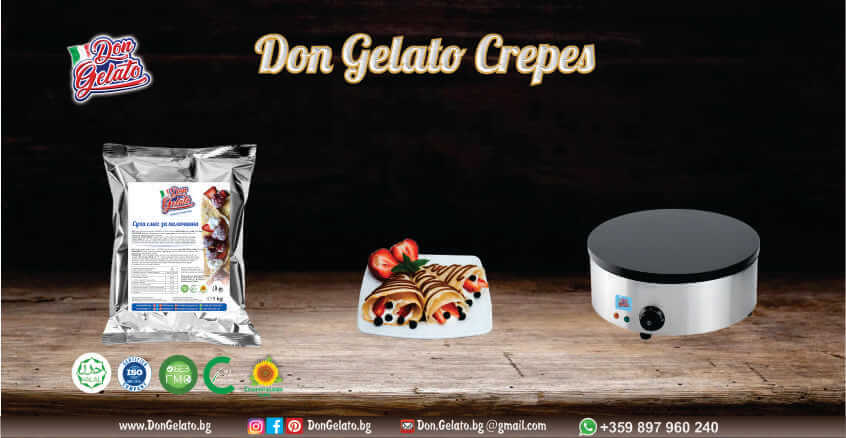 Суха смес за палачинки Дон Джелато